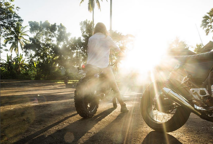 Reportage photo : les Bali Girls Ride Out