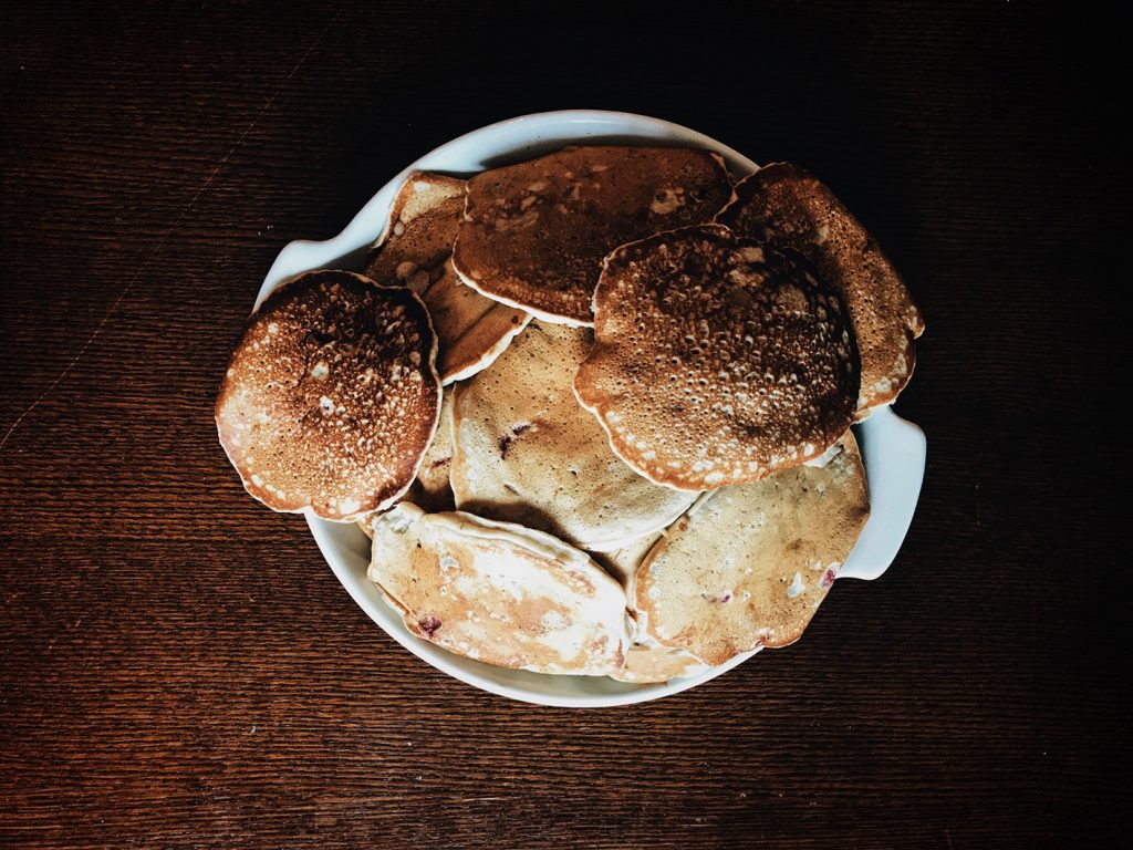 Pancakes vegan nature
